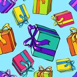 Natale e nuovo anno senza giunte illustrazione vettoriale