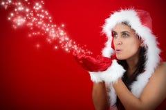 Natale e stella Fotografia Stock
