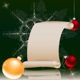Natale ed i precedenti dei nuovi anni Immagini Stock Libere da Diritti