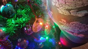 Natale ed incinto fotografie stock