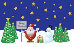 Natale. elementi per il disegno. Fotografie Stock Libere da Diritti