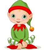 Natale Elf Fotografie Stock Libere da Diritti