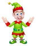 Natale Elf del fumetto Fotografie Stock