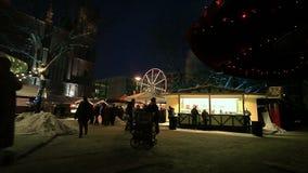 Natale europeo, Berlino archivi video