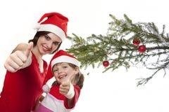 Natale felice Fotografie Stock Libere da Diritti