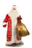 Natale felice Santa. Fotografia Stock