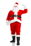 Natale felice Santa Fotografia Stock Libera da Diritti