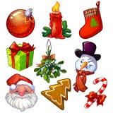 Natale fissato Immagine Stock