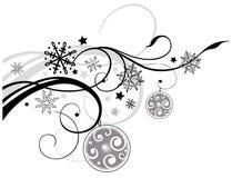 Natale, floreale Immagini Stock