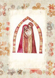 Natale: Gesù Cristo, Joseph, Mary Fotografia Stock
