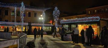 Natale giusto a St Petersburg, Russia Immagine Stock Libera da Diritti