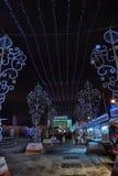 Natale giusto a St Petersburg, Russia Immagini Stock
