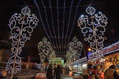 Natale giusto a St Petersburg, Russia Fotografia Stock Libera da Diritti