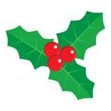 Natale Holly Berry Immagine Stock Libera da Diritti