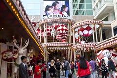 Natale a Hong Kong Fotografia Stock