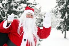 Natale il Babbo Natale Immagini Stock