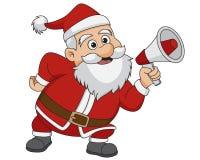 Natale il Babbo Natale Vettore ed illustrazione Fotografia Stock Libera da Diritti