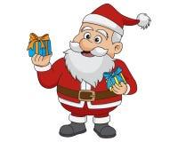 Natale il Babbo Natale Vettore ed illustrazione Fotografie Stock