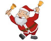 Natale il Babbo Natale Vettore ed illustrazione Fotografia Stock