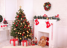 Natale interno Immagine Stock
