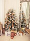 Natale interno Immagini Stock