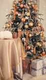 Natale interno Immagine Stock Libera da Diritti