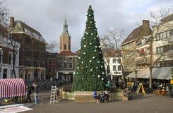 Natale a L'aia Immagini Stock Libere da Diritti