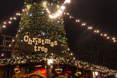 Natale a Londra Immagini Stock Libere da Diritti