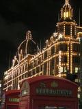 Natale a Londra Fotografie Stock