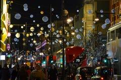 Natale a Londra Fotografia Stock