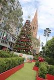 Natale a Melbourne Fotografia Stock