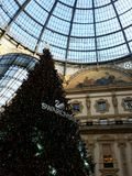 Natale a Milano Immagini Stock Libere da Diritti