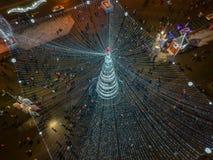 Natale Minsk, Bielorussia fotografia stock libera da diritti