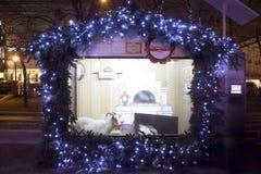 Natale Mosca Fotografia Stock