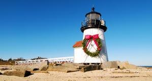 Natale a Nantucket fotografie stock