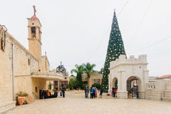 Natale a Nazaret Fotografia Stock