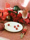 Natale nel colore rosso fotografia stock libera da diritti