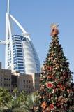Natale nel Dubai Fotografia Stock Libera da Diritti