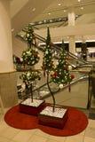 Natale nel grande magazzino Immagine Stock Libera da Diritti
