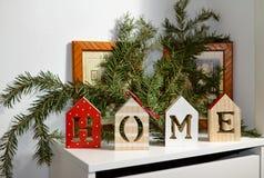 Natale nel paese Fotografie Stock Libere da Diritti