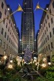 Natale a New York Immagini Stock Libere da Diritti