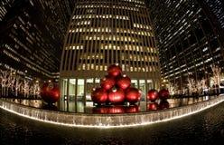 Natale a New York Fotografia Stock Libera da Diritti