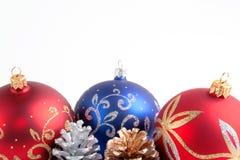 Natale/nuovo anno di decorazioni fotografia stock