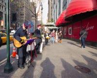 Natale NYC dell'Esercito della Salvezza Fotografia Stock Libera da Diritti