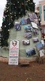 Natale in Palestina Fotografie Stock