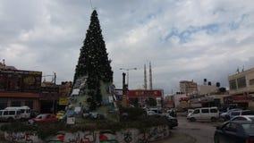 Natale in Palestina Immagine Stock Libera da Diritti