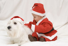 Natale piacevole. Fotografie Stock