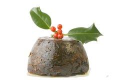 Natale pudding2 Immagine Stock Libera da Diritti
