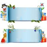 Natale Rolls di vettore Fotografia Stock Libera da Diritti