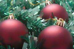 Natale rosso di verde Immagini Stock